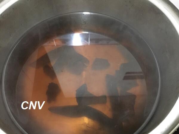 nước nâm linh chi đỏ việt nam sau khi nấu