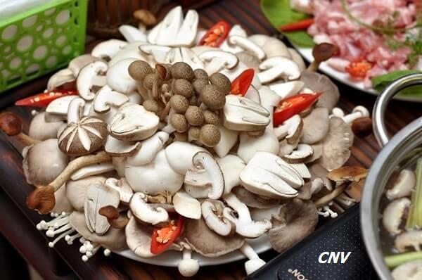 nấm ăn lẩu