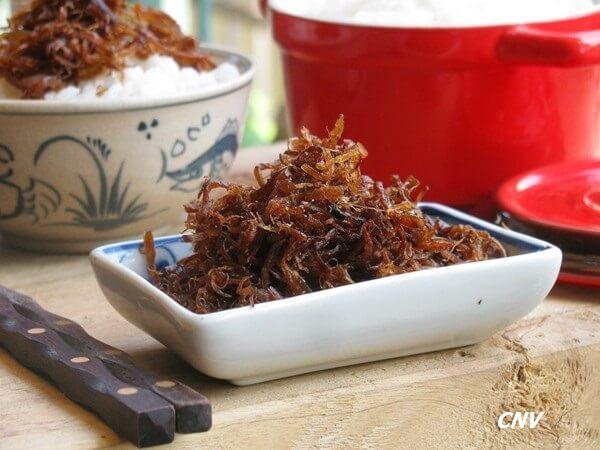 cách làm khô bò nấm bào ngư