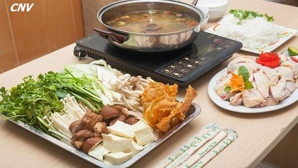 cách nấu lẩu nấm gà ngon